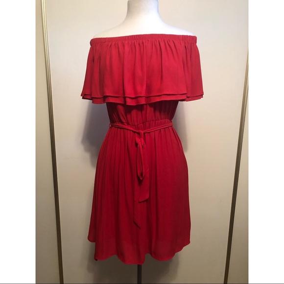 Lush Dresses & Skirts - Off the shoulder dress